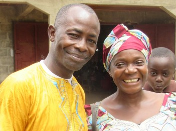 Pastor Lombaye and wife Elizabeth